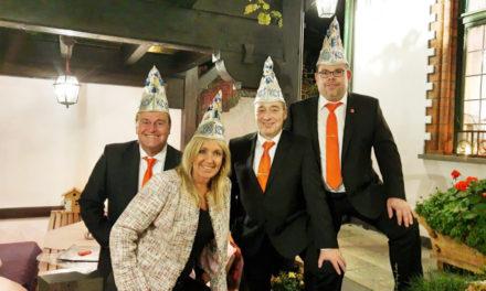KCV-Großer Rat tafelte festlich im Weinhaus Sinz