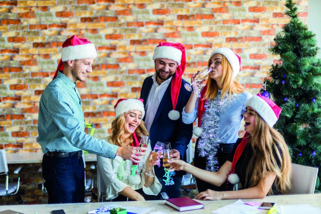 Flirten weihnachtsfeier