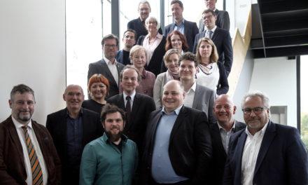 Oberbürgermeister begrüßte die Vertreterinnen und Vertreter der hessischen Wirtschaftsförderungen