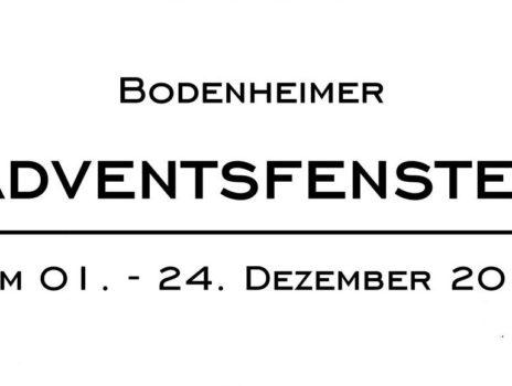 Bodenheimer Adventsfenster schon im 3. Jahr