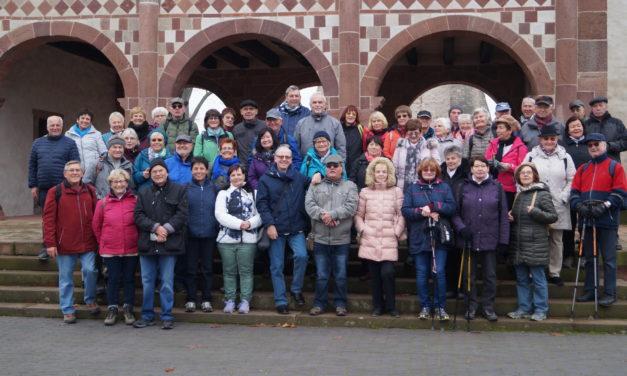 November-Wanderung der SG Eintracht Rüsselsheim