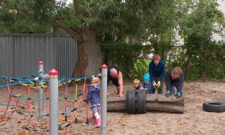 Familien unterstützen bei Neugestaltung des Aussengeländes der Kita Kastanienburg