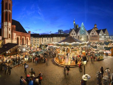 Weihnachtsstimmung von Hauptwache bis Römerberg