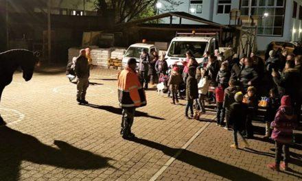 Martinsumzüge in Nierstein und Schwabsburg begeisterten mehrere Hundert Teilnehmer