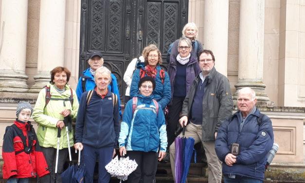 Die Freizeit-Wanderer der SKG Bauschheim on tour