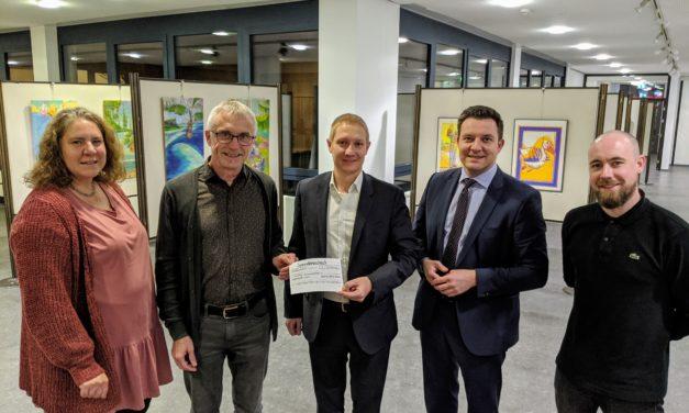 Sparda-Bank Hessen fördert Kulturleben in Hofheim