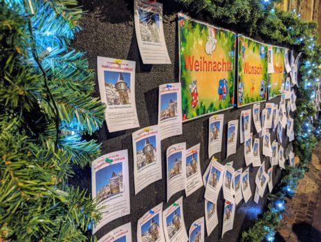 Weihnachts-Wunsch-Wand