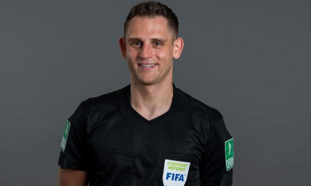 TSG 46 Mainz-Kastel ehrt gebührend FIFA-Schiri Rafael Foltyn