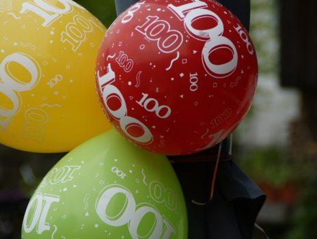 Oberbürgermeister gratulierte zum 100. Geburtstag