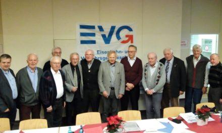 Informative EVG-Mitgliederversammlung mit gebührenden Jubilarenehrungen