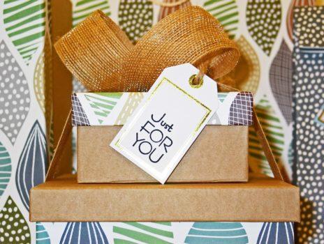 Geschenkboxen aus Altpapier basteln