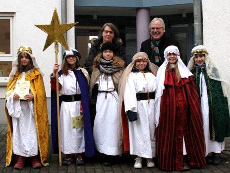 Sternsinger besuchten das Rathaus