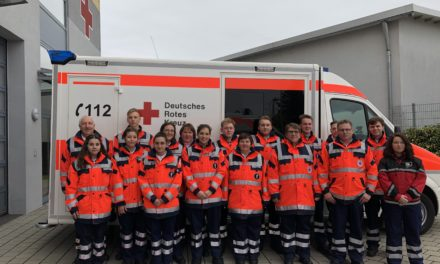 9.031 ehrenamtliche Stunden leistete das DRK Flörsheim 2019