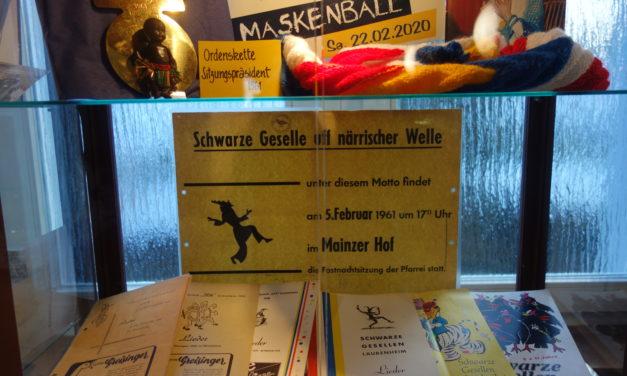 """<span class=""""entry-title-primary"""">Klein, aber fein!</span> <span class=""""entry-subtitle"""">Ausstellung """"150 Jahre Fastnacht in Mainz-Laubenheim"""" </span>"""