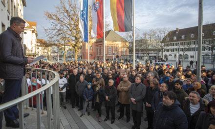 Rüsselsheim setzt Zeichen gegen Rechts