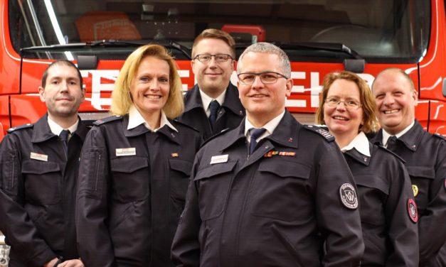 Wickerer Feuerwehrführung für die nächsten fünf Jahre wieder gewählt