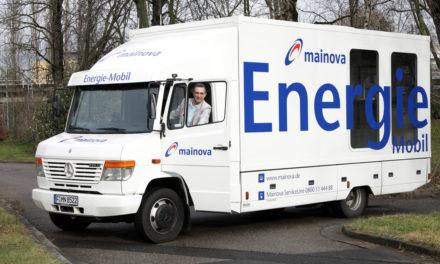 Das Mainova-Energiemobil kommt nach Hochheim