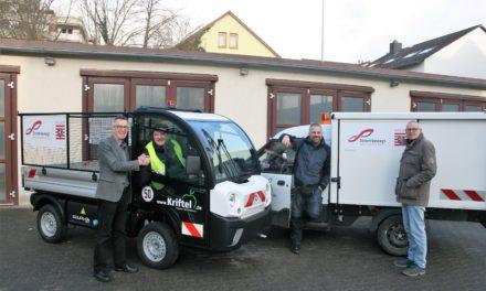 """<span class=""""entry-title-primary"""">Forschungsprogramm """"Förderung der Elektromobilität""""</span> <span class=""""entry-subtitle"""">Zwei E-Autos verstärken den Bauhof-Fuhrpark der Gemeinde</span>"""