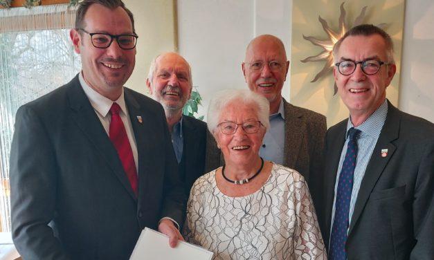 Rosel Eberth feierte 95sten Geburtstag