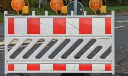 Vollsperrung der Wickerer Straße in Hochheim-Massenheim