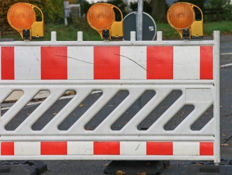 Brücke entlang der Kupferstraße bis voraussichtlich Mitte April für Fahrzeuge gesperrt