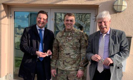 Bürgermeister Vogt zu Gast bei der U.S. Army