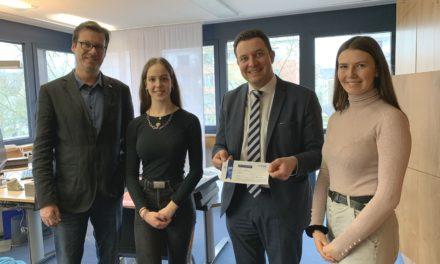 Bürgermeister Vogt unterstützt Schülerfirma Local FOODture