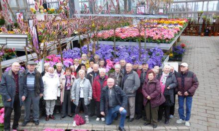 Der Rentner-Club der Siedler, startete seine Jahresfahrten für das Jahr 2020