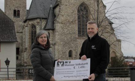 Orgelbauverein freut sich über Konzert-Erlös