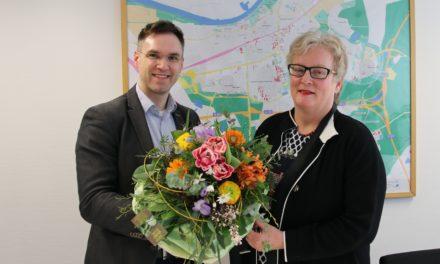 Karola Gaukler nach 40 Jahren bei der Rüsselsheimer Stadtverwaltung verabschiedet