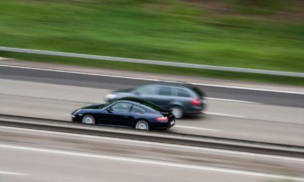 Überschreiten der Richtgeschwindigkeit