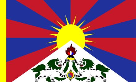 Flörsheim zeigt Flagge für Tibet