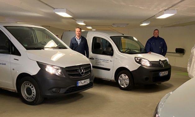 Mobilitätswende bei der HWB: Flotte der Elektroautos wächst