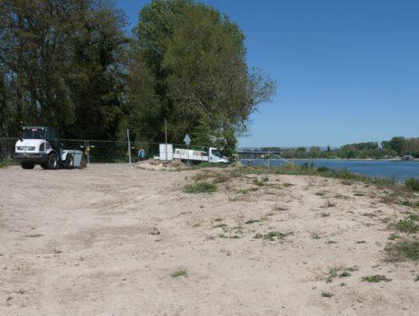 Saisonaler Ausschank am Weisenauer Rheinufer