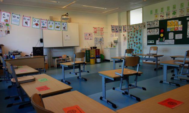 """<span class=""""entry-title-primary"""">""""Wir schaffen es nur gemeinsam!""""</span> <span class=""""entry-subtitle"""">Wiederbeginn des Präsenzunterrichts an der Grundschule Nackenheim </span>"""