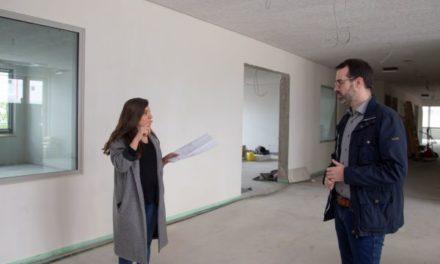 Bauarbeiten an Sophie-Opel-Schule schreiten weiter voran