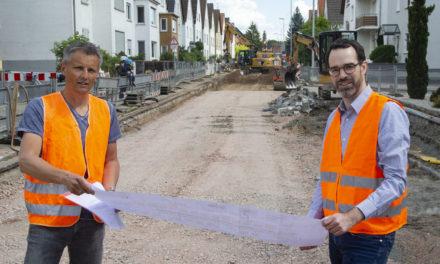 Erster Bauabschnitt für Sanierung der Friedhofstraße