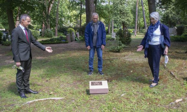 Gedenkstein für französisches Kriegsopfer