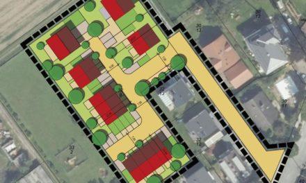 Stadtteil Wallau: Neue Wohnbebauung nördlich der Taunusstraße