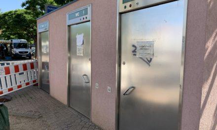 Öffentliche WC-Anlagen werden am 1. Juli geöffnet