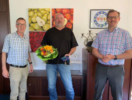 Rathausspitze gratulierte