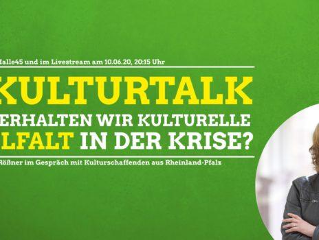 Einladung zum #Kulturtalk mit Tabea Rößner