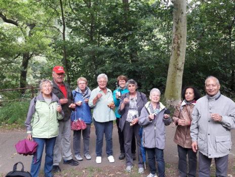 TSV Ginsheim – Seniorenwandern