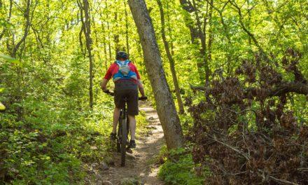 Kein Mountainbiking im Naturschutzgebiet