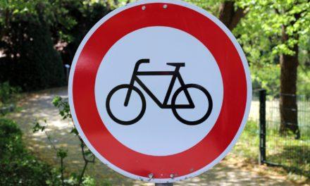 Bitte beachten: Radfahren im Freizeitpark verboten!