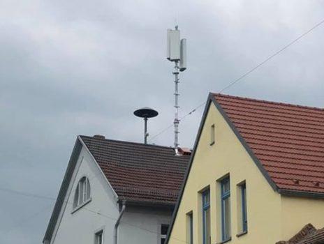 Bürgerinfo zum Funkmast auf dem Rathausdach