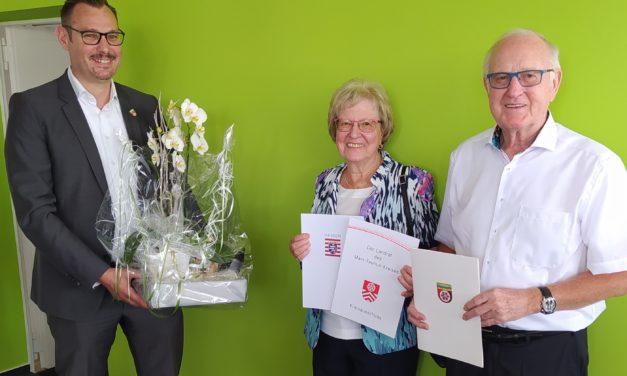 Vera und Theo Klug feierten Diamantene Hochzeit