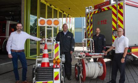 Erweiterung der Fahrzeugausstattung für die Feuerwehr in Bauschheim