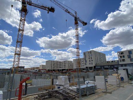 Stadtratsfraktion informiert sich über Baufortschritt