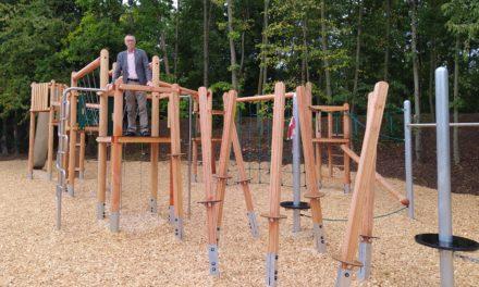 Spielplatz am Linsenberg kann bespielt werden!